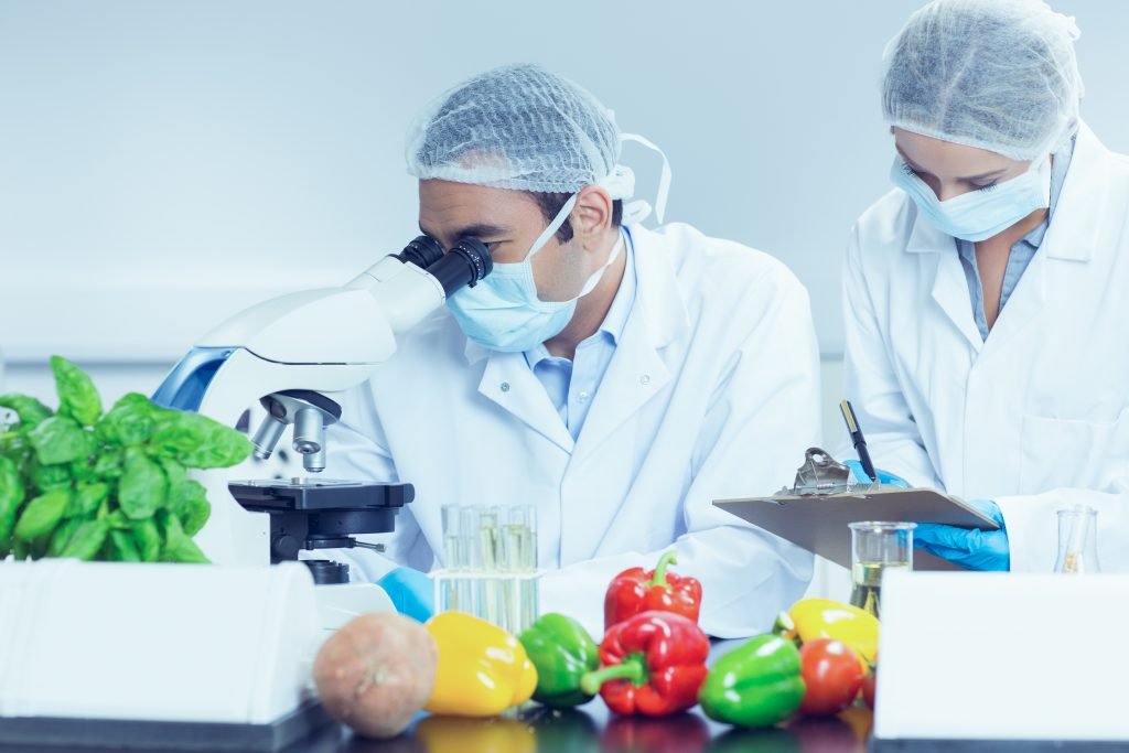 Food safety lab scientists
