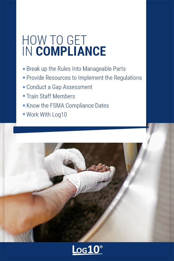 How To Become FSMA Compliant