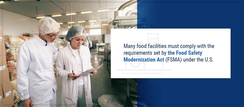 O 2 About The Food Safety Modernization Act