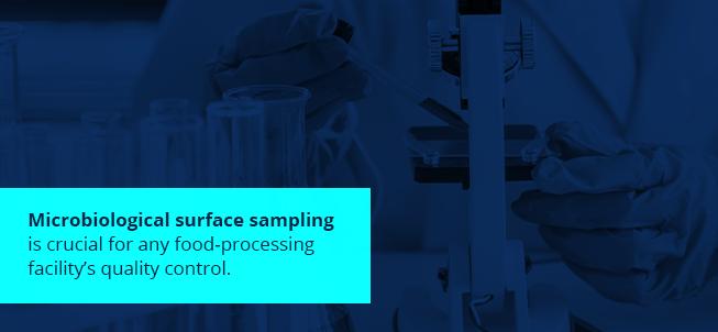 Microbiological surface sampling
